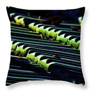 Roof Grounded Throw Pillow