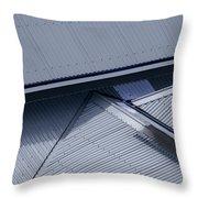 Roof Lines - Montague Island - Australia Throw Pillow