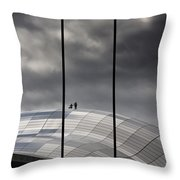 Roof Of The Sage Throw Pillow