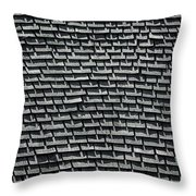 Roof Shadows Throw Pillow