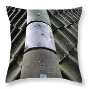 Roof Tops 5 Throw Pillow