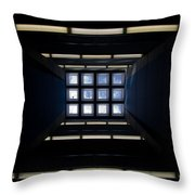 Roof Window Throw Pillow