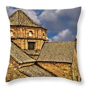 Colonial Roof Throw Pillow