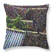 Roofs Of Houses In Spain Throw Pillow
