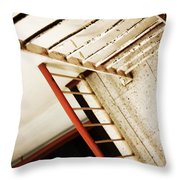 Roofs Port  Throw Pillow
