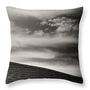 Rooftop Sky Throw Pillow by Darryl Dalton