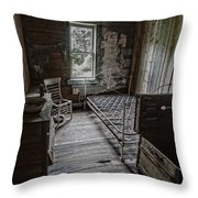 Room At The Wells Hotel - Montana Throw Pillow