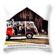 Room For All Throw Pillow