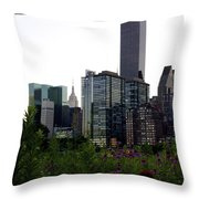 Roosevelt Island View Throw Pillow