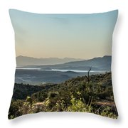 Roosevelt Lake Throw Pillow