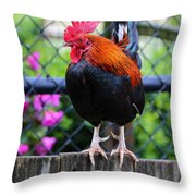 Roost Ruler Throw Pillow