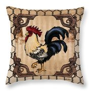 Rooster II Throw Pillow