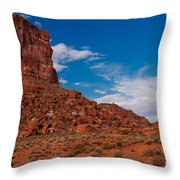Rooster Rock Throw Pillow
