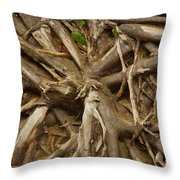 Root System Throw Pillow