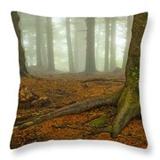 Rooted-pano Throw Pillow