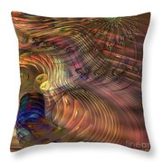 Roots Of Light - Square Version Throw Pillow