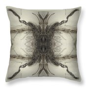 Roots Two Throw Pillow