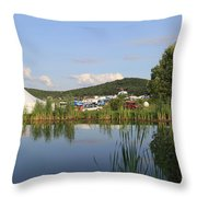 Rootwire Transformational Arts Festival 2k14 Throw Pillow