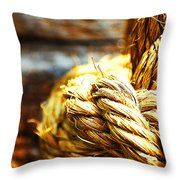 #rope Throw Pillow