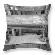 Rope Ladder Throw Pillow