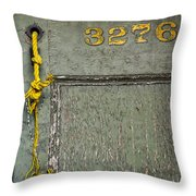 Roped Indoors  Throw Pillow