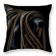Roped Throw Pillow