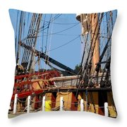 Ropes And Ramp  Throw Pillow