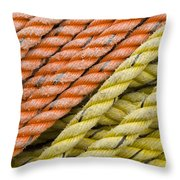 Ropes Throw Pillow