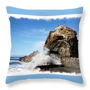 Roque De Las Bodegas Throw Pillow