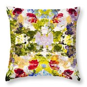 Rorschach Test Throw Pillow