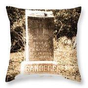 Rosa Sanders - Vintage Throw Pillow