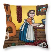 Rosas Kitchen Throw Pillow