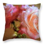 Rose 166 Throw Pillow