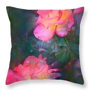 Rose 194 Throw Pillow
