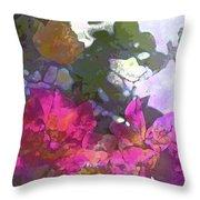Rose 206 Throw Pillow by Pamela Cooper