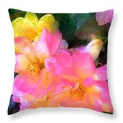 Rose 211 Throw Pillow
