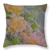 Rose 213 Throw Pillow