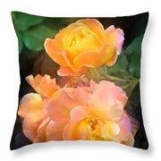 Rose 221 Throw Pillow