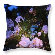 Rose 222 Throw Pillow