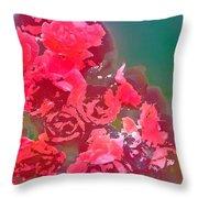 Rose 248 Throw Pillow