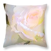 Rose 254 Throw Pillow