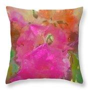 Rose 256 Throw Pillow