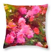 Rose 282 Throw Pillow