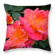Rose 283 Throw Pillow