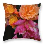Rose 284 Throw Pillow