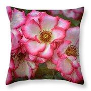 Rose 298 Throw Pillow
