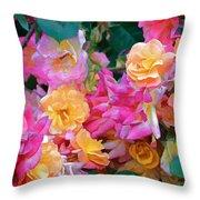 Rose 304 Throw Pillow