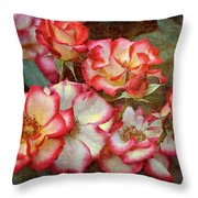 Rose 305 Throw Pillow