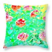 Rose 40 Throw Pillow