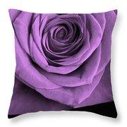 Rose 5 I Love You Throw Pillow